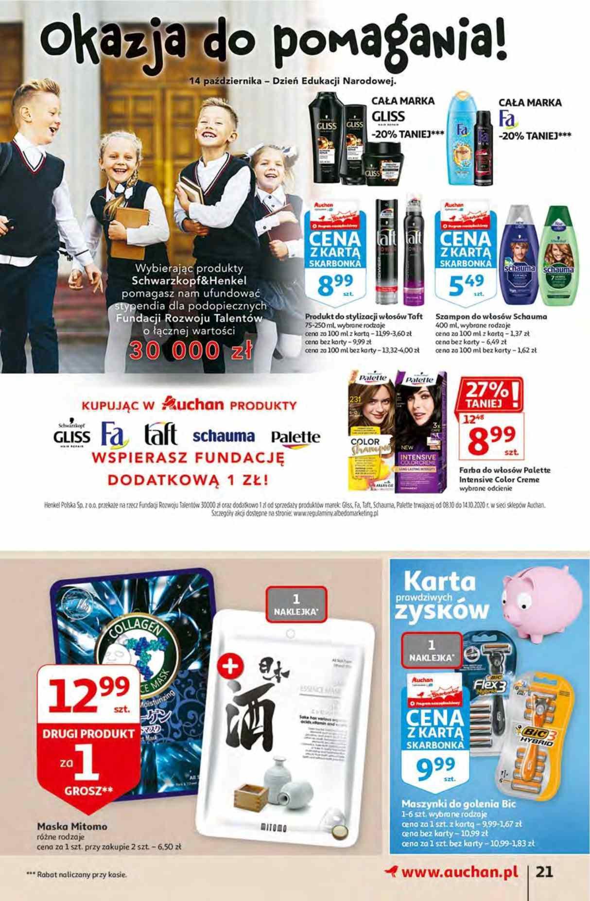 Gazetka promocyjna Auchan do 14/10/2020 str.20