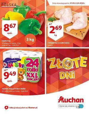 Auchan gazetka  - od 27/09/2018 do 03/10/2018