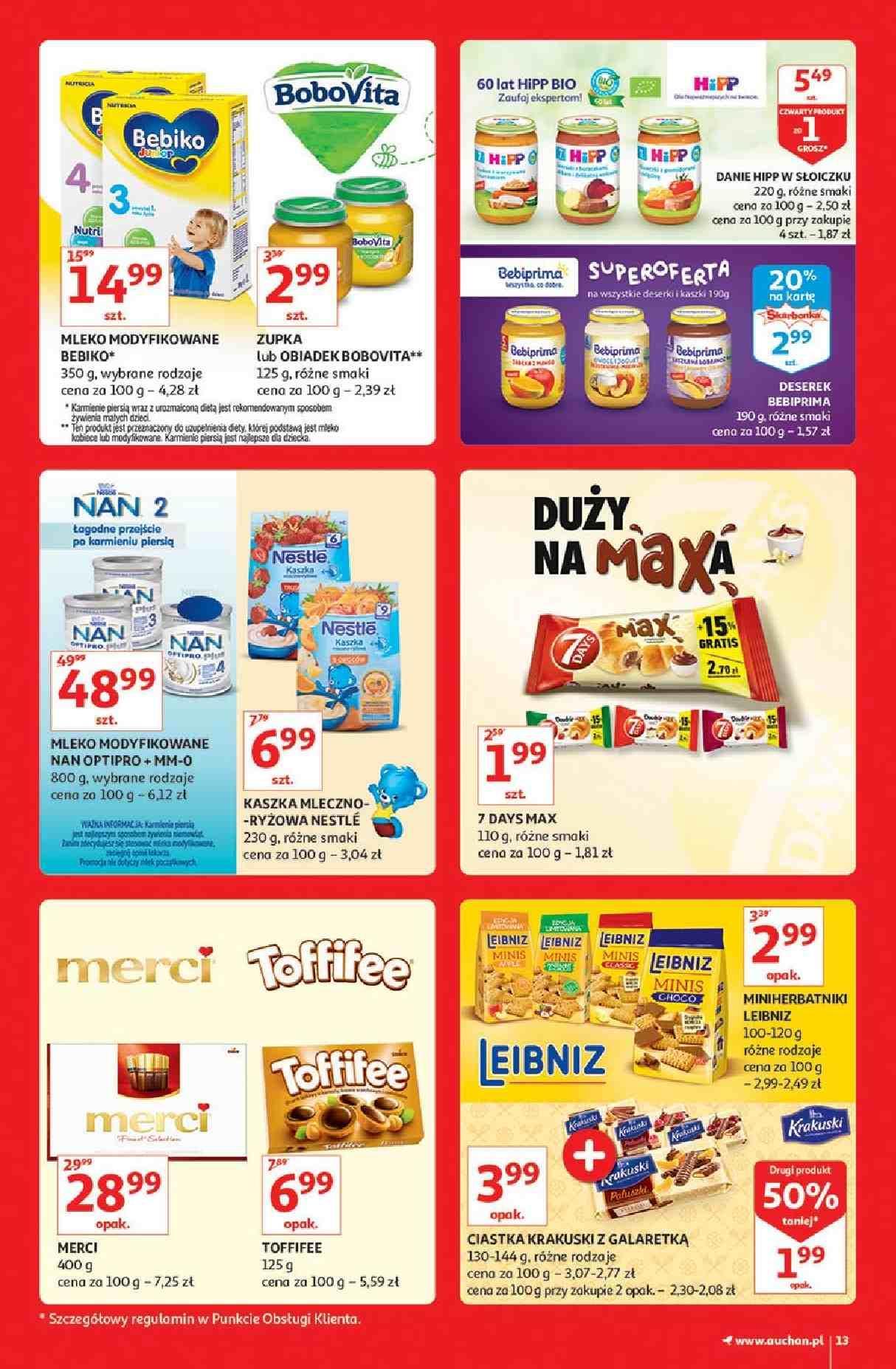 Gazetka promocyjna Auchan do 13/03/2019 str.13