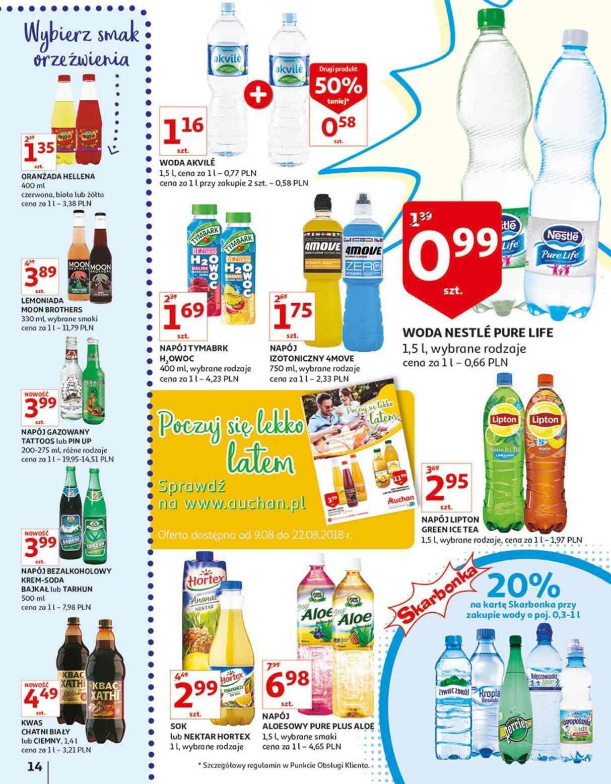 Gazetka promocyjna Auchan do 14/08/2018 str.13