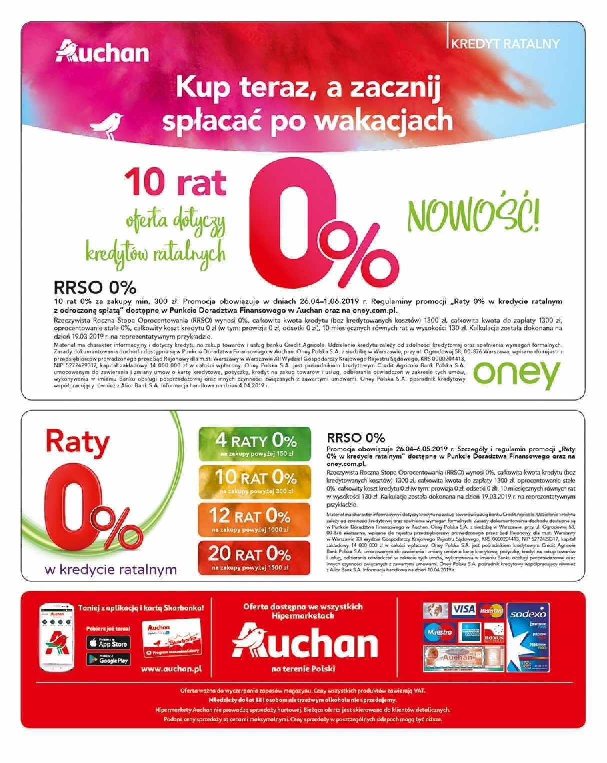Gazetka promocyjna Auchan do 06/05/2019 str.47