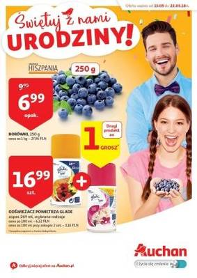Auchan gazetka - od 15/05/2018 do 22/05/2018