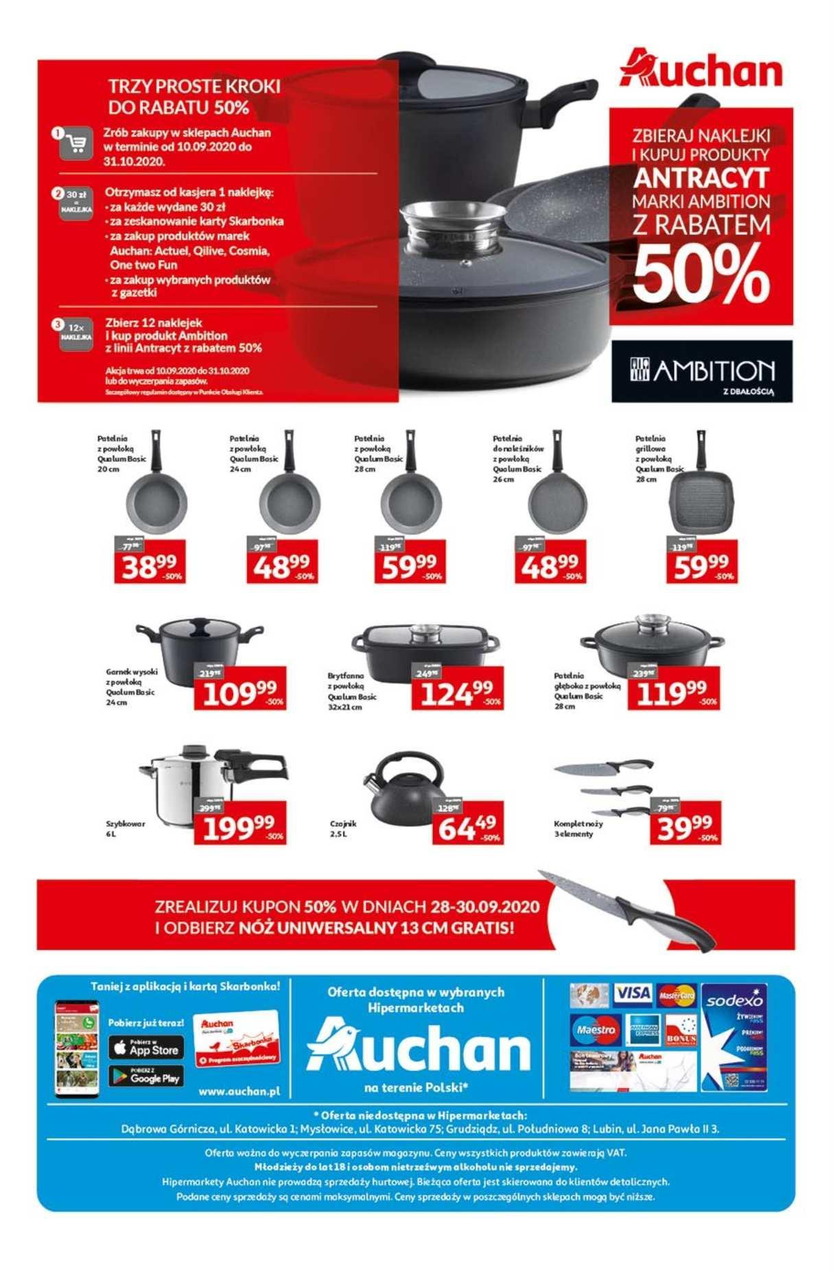 Gazetka promocyjna Auchan do 16/09/2020 str.31