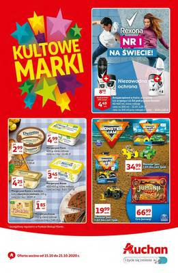 Auchan gazetka - od 15/10/2020 do 21/10/2020