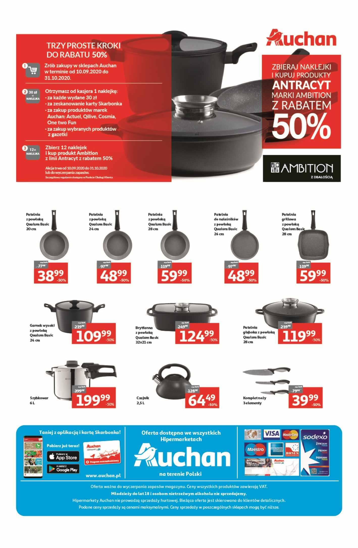 Gazetka promocyjna Auchan do 14/10/2020 str.9
