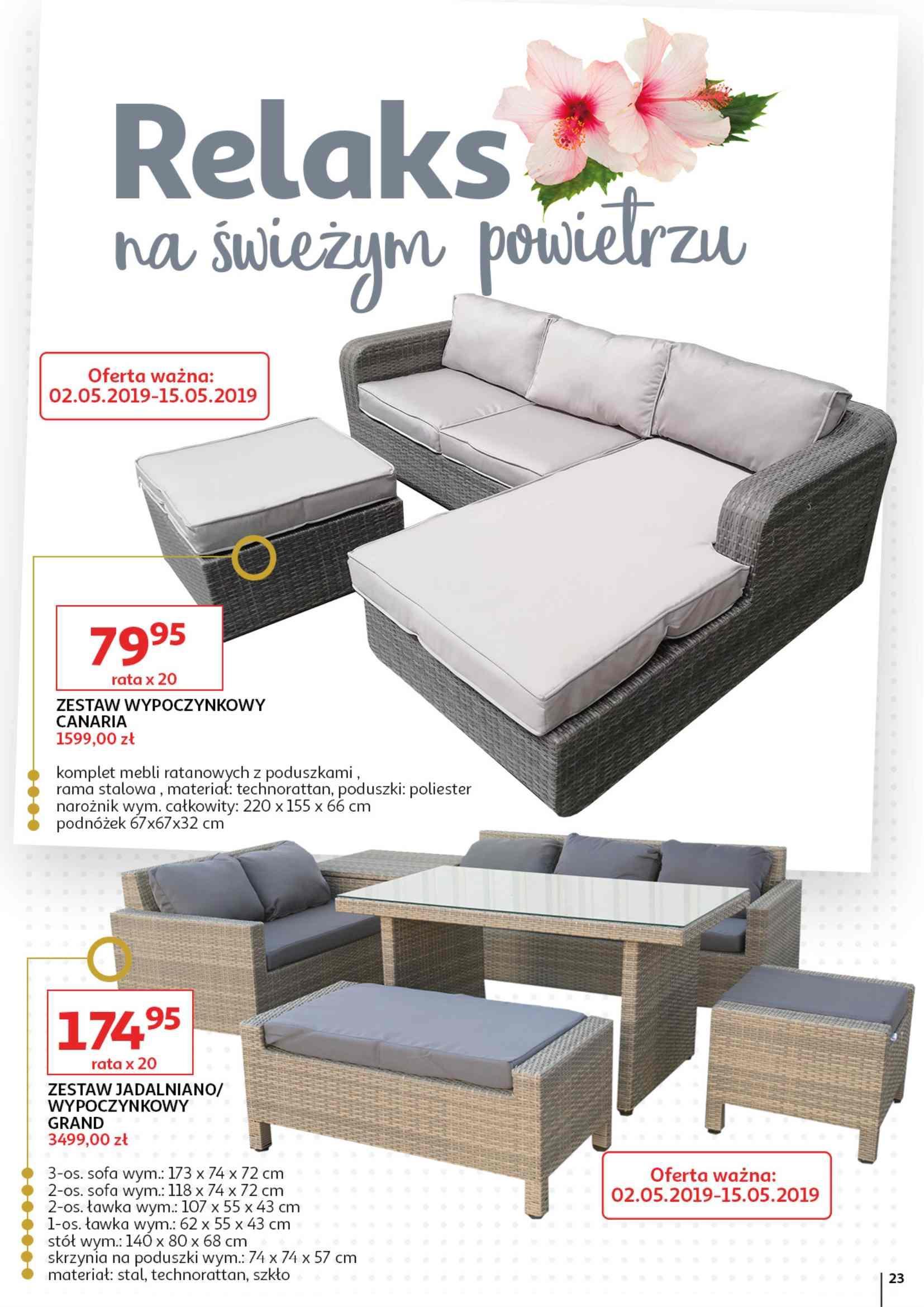 Gazetka promocyjna Auchan do 15/05/2019 str.23