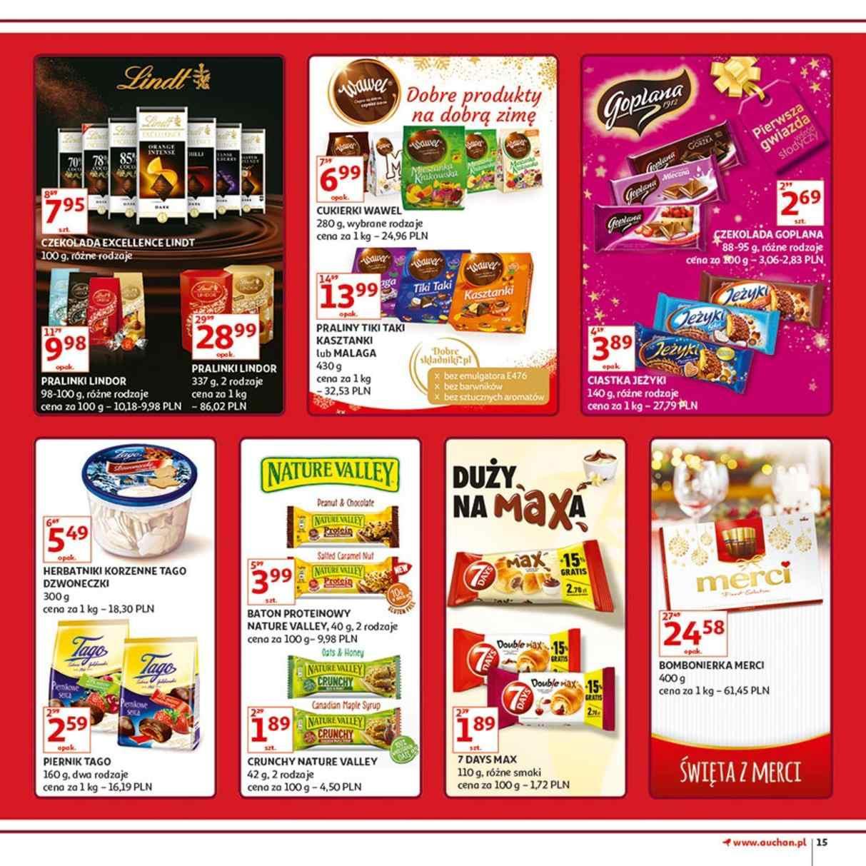Gazetka promocyjna Auchan do 12/12/2018 str.15