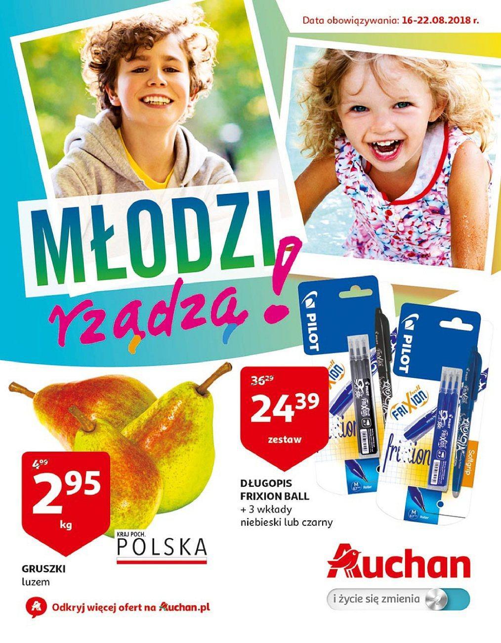 Gazetka promocyjna Auchan do 22/08/2018 str.1