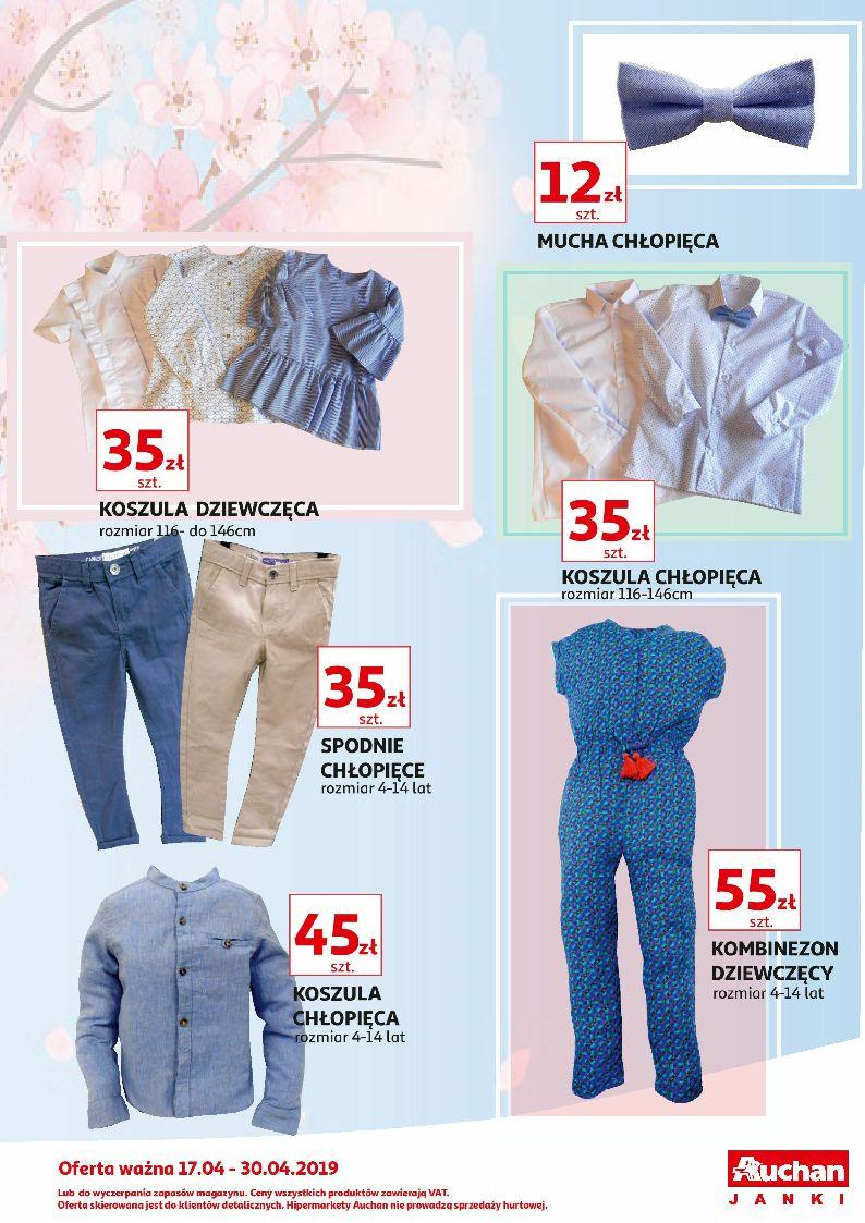 Gazetka promocyjna Auchan do 30/04/2019 str.1