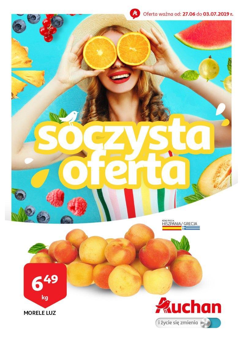 Gazetka promocyjna Auchan do 03/07/2019 str.0
