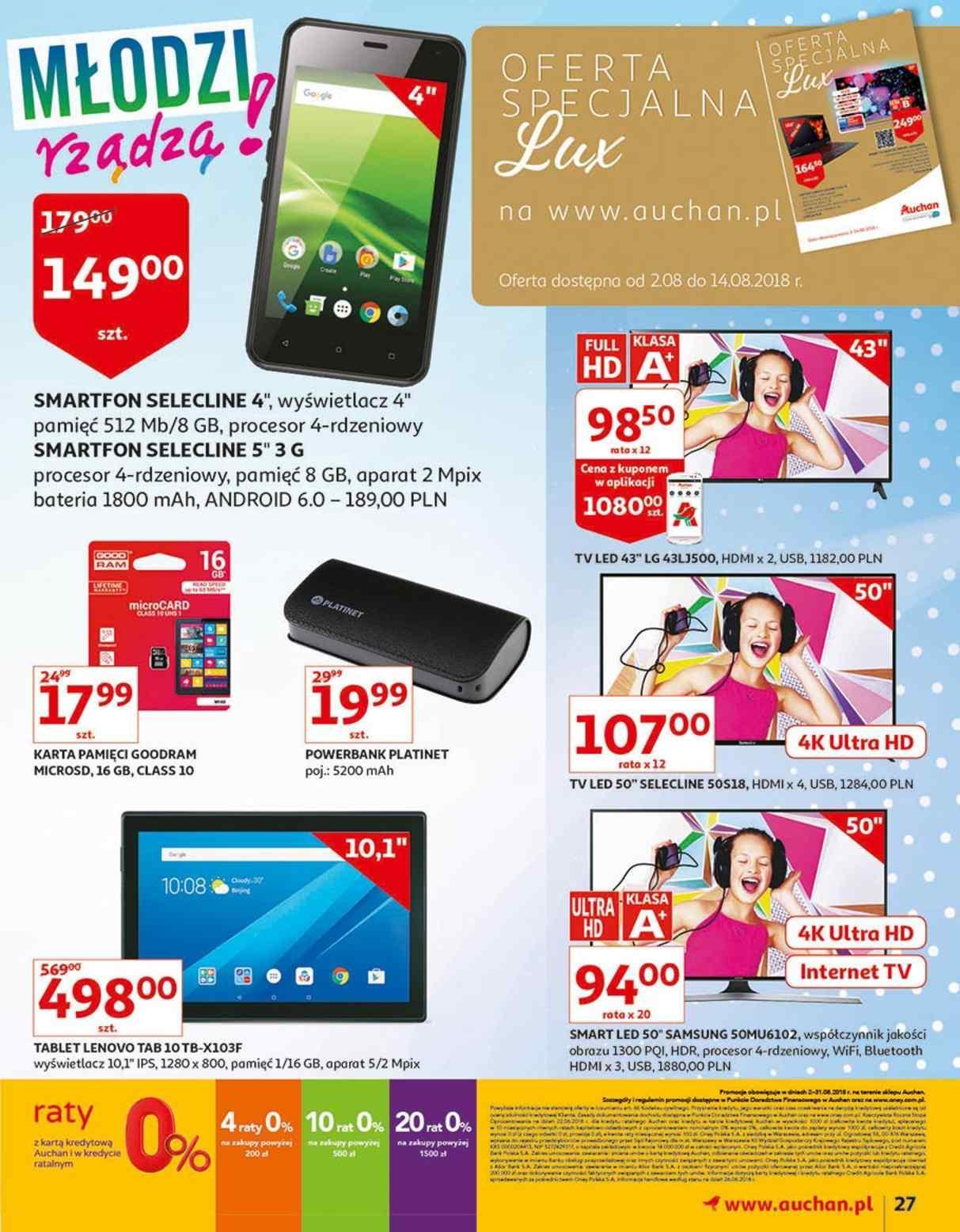 Gazetka promocyjna Auchan do 14/08/2018 str.26