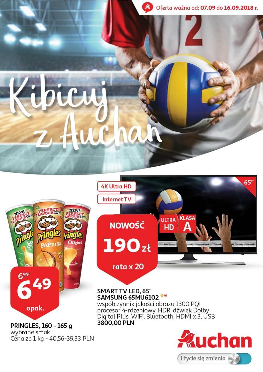 Gazetka promocyjna Auchan do 16/09/2018 str.1