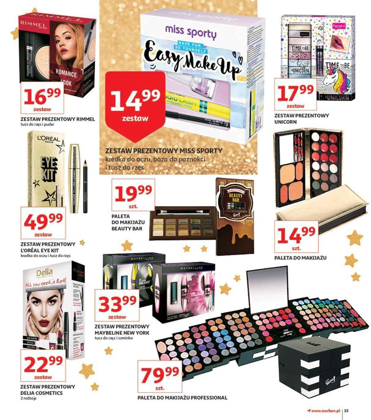 Gazetka promocyjna Auchan do 28/11/2018 str.15