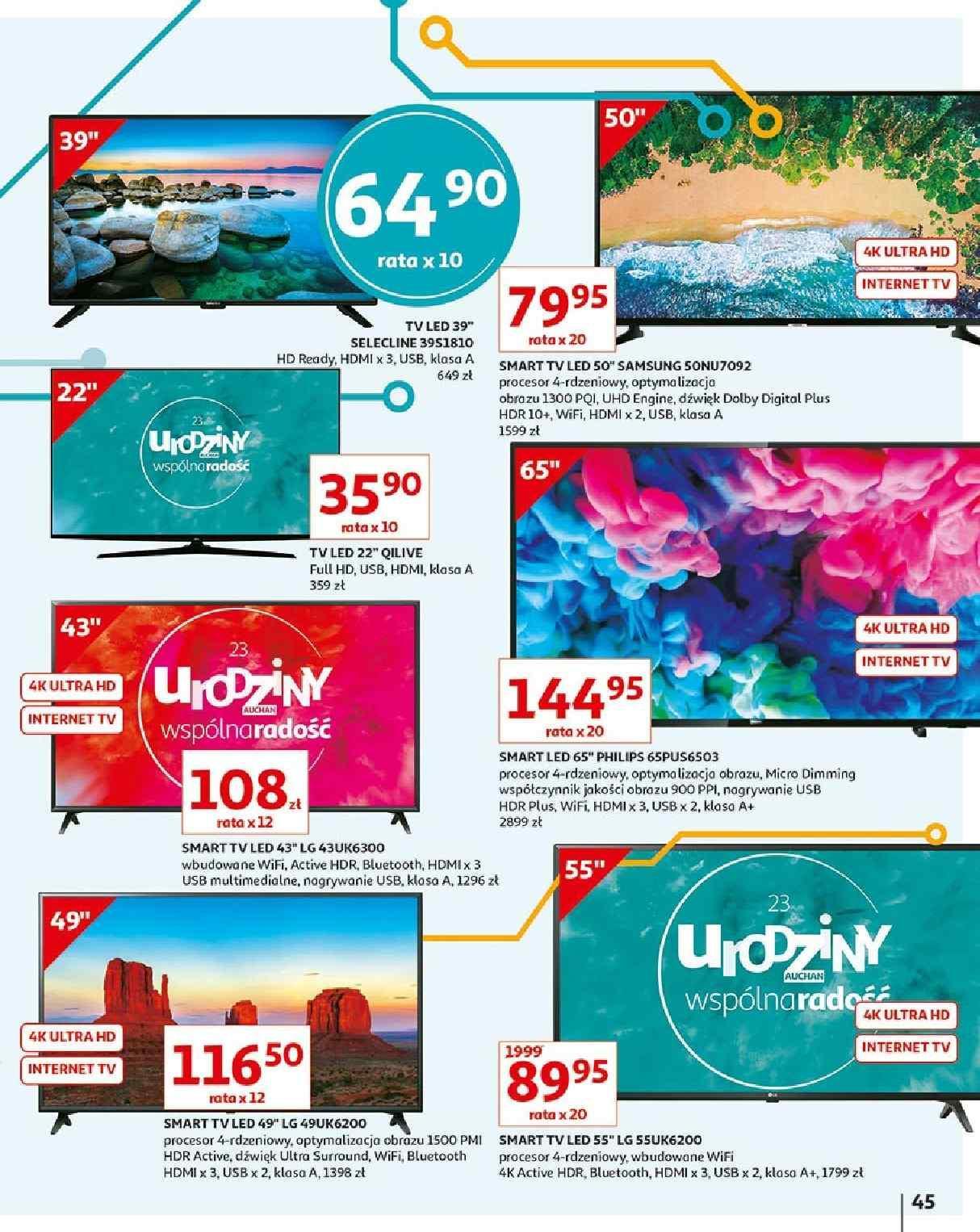 Gazetka promocyjna Auchan do 23/05/2019 str.45