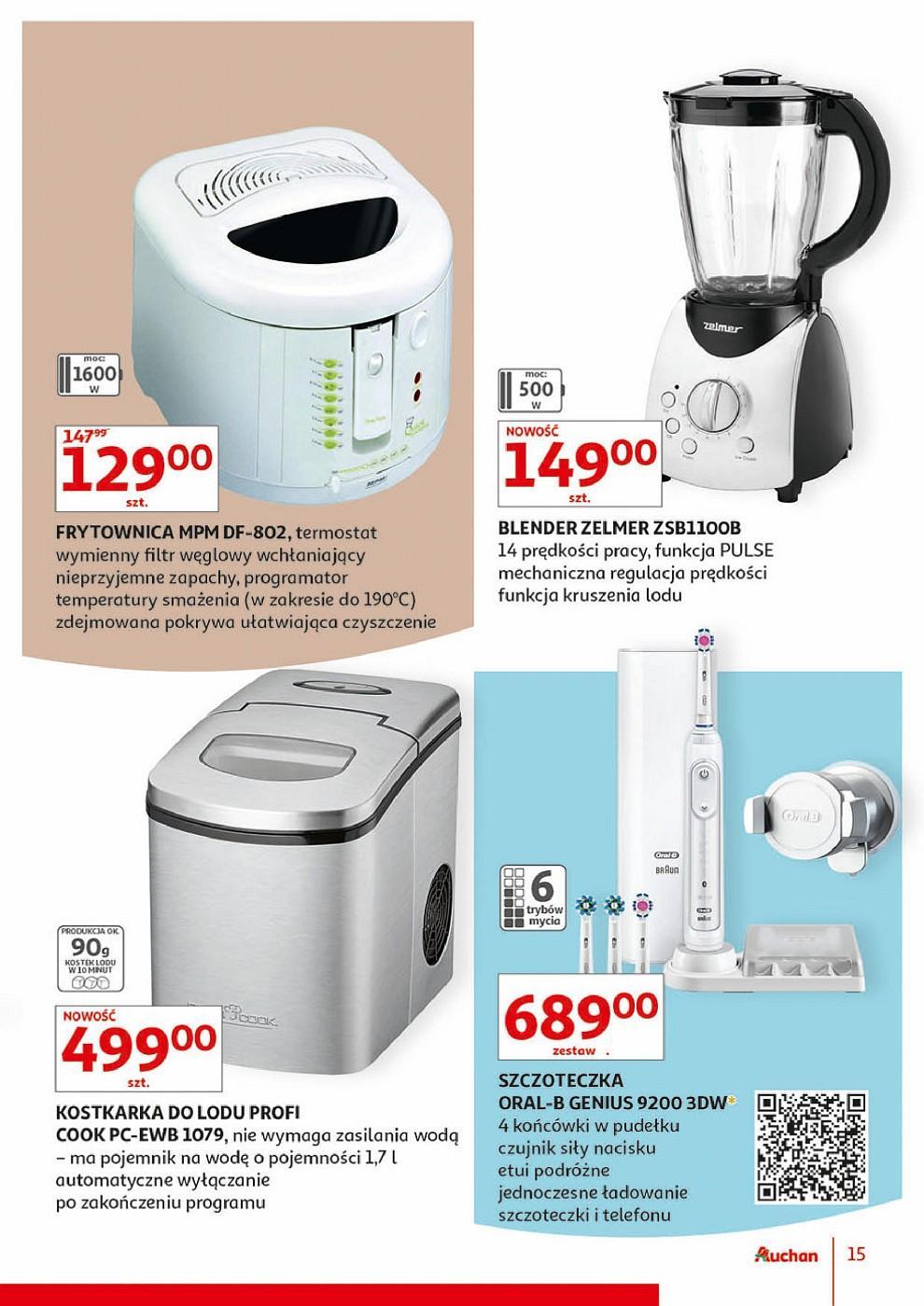 Gazetka promocyjna Auchan do 13/06/2018 str.15
