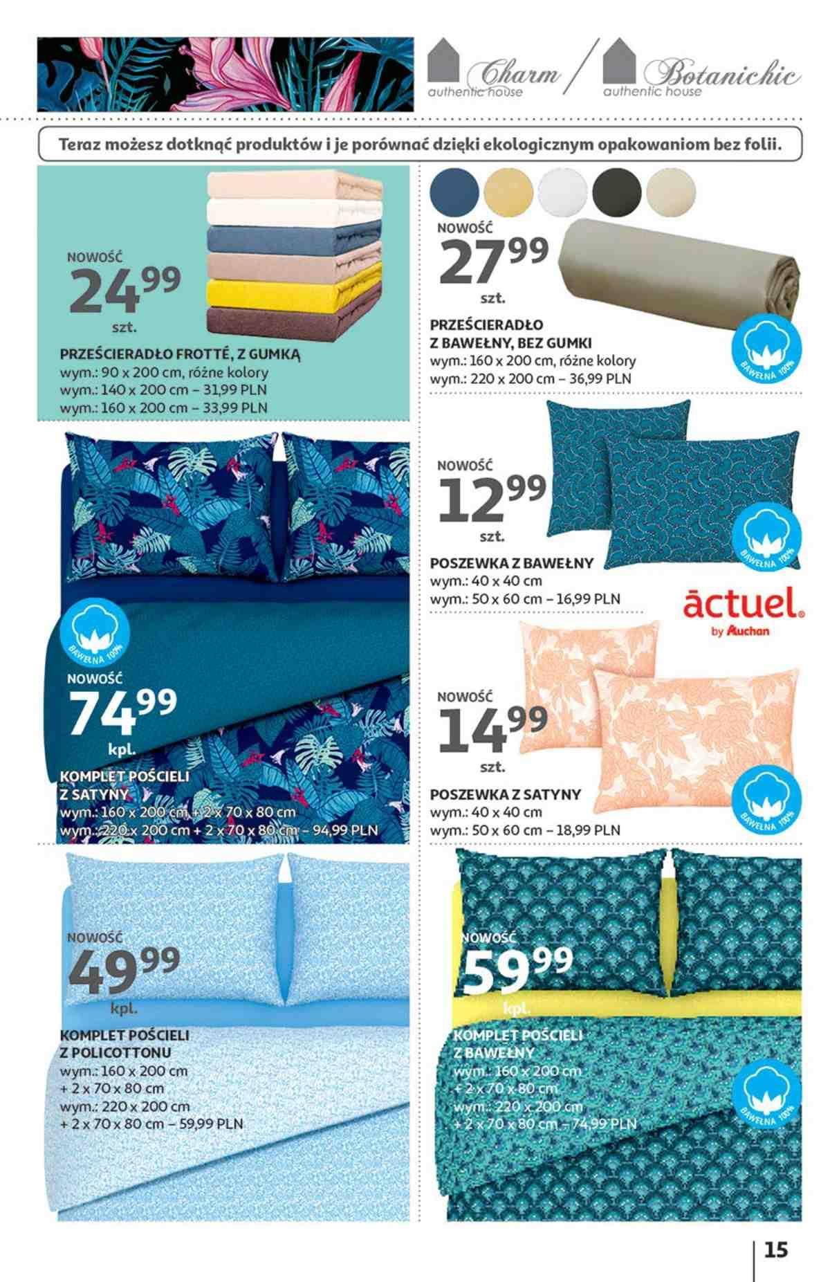 Gazetka promocyjna Auchan do 23/01/2019 str.15