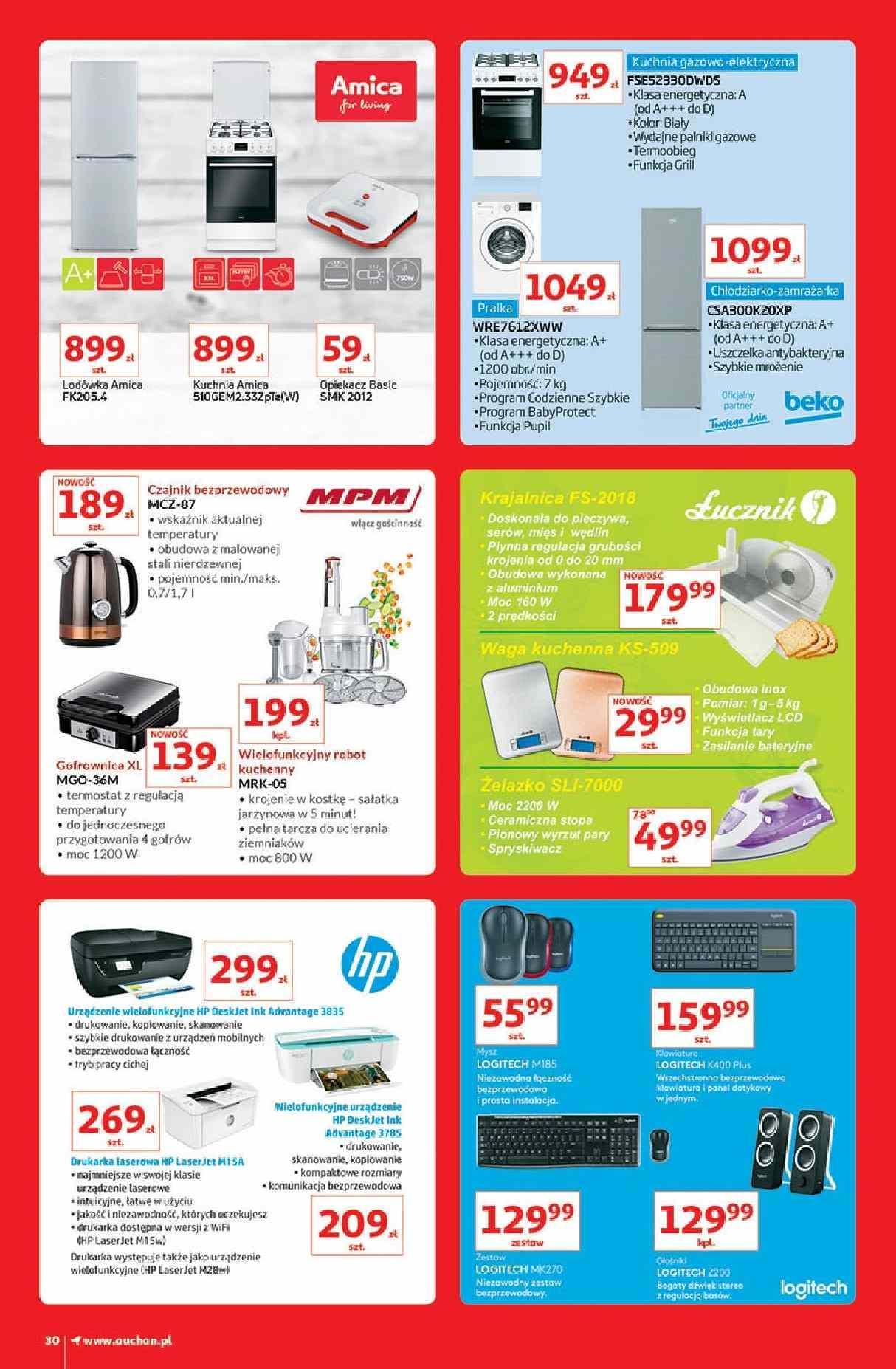 Gazetka promocyjna Auchan do 13/03/2019 str.30