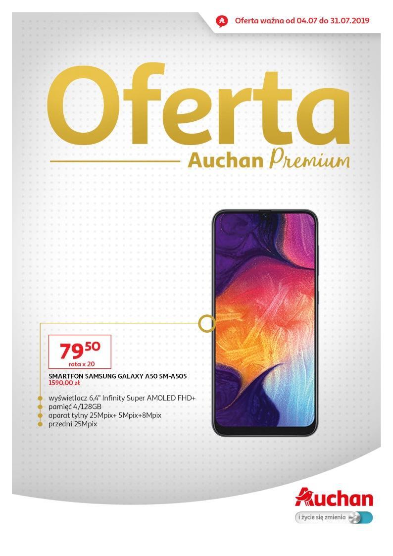 Gazetka promocyjna Auchan do 31/07/2019 str.1