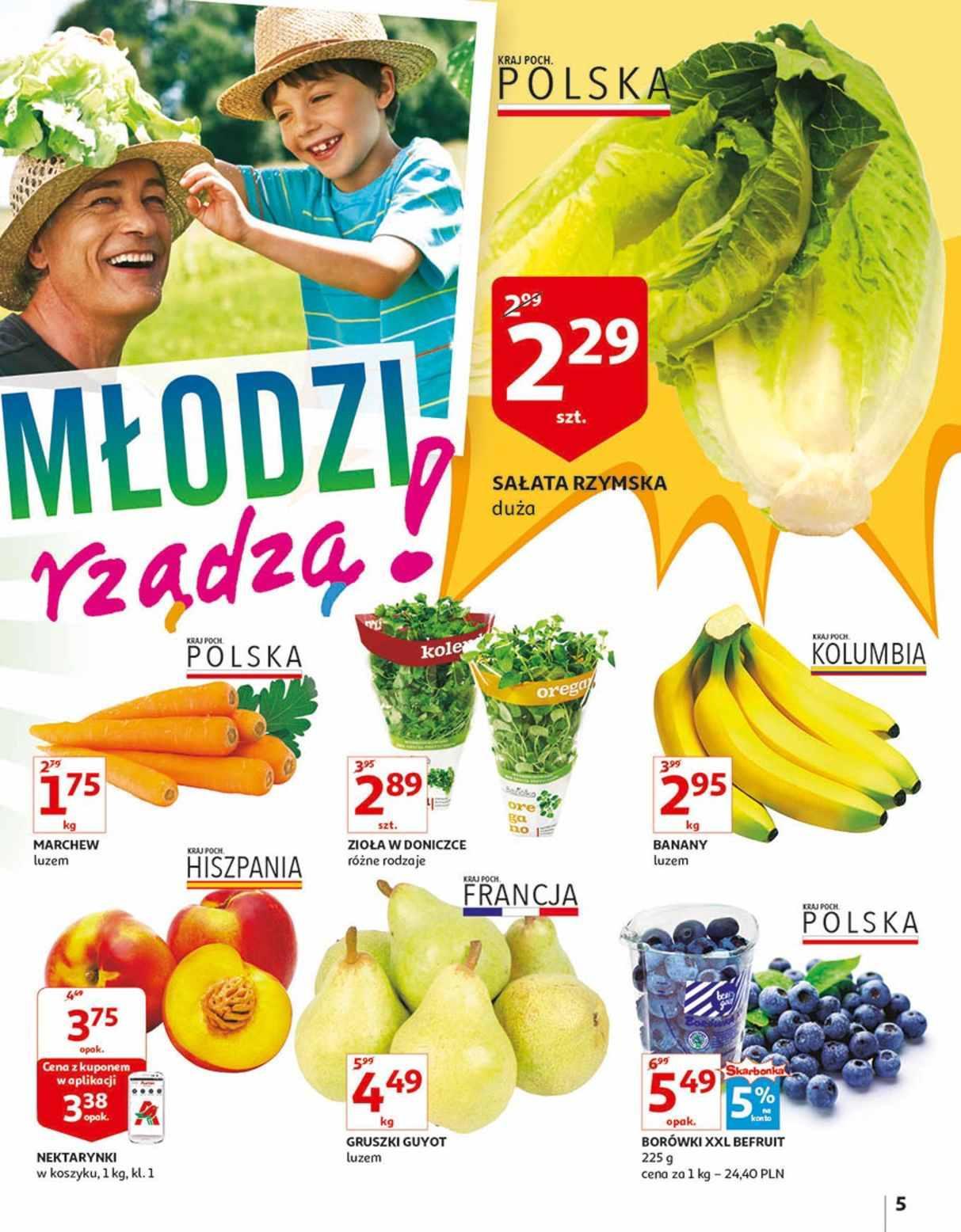 Gazetka promocyjna Auchan do 14/08/2018 str.5