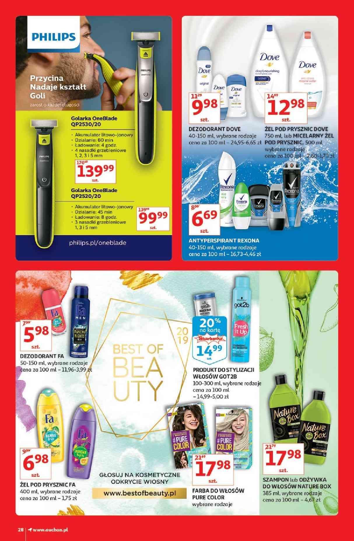 Gazetka promocyjna Auchan do 13/03/2019 str.28
