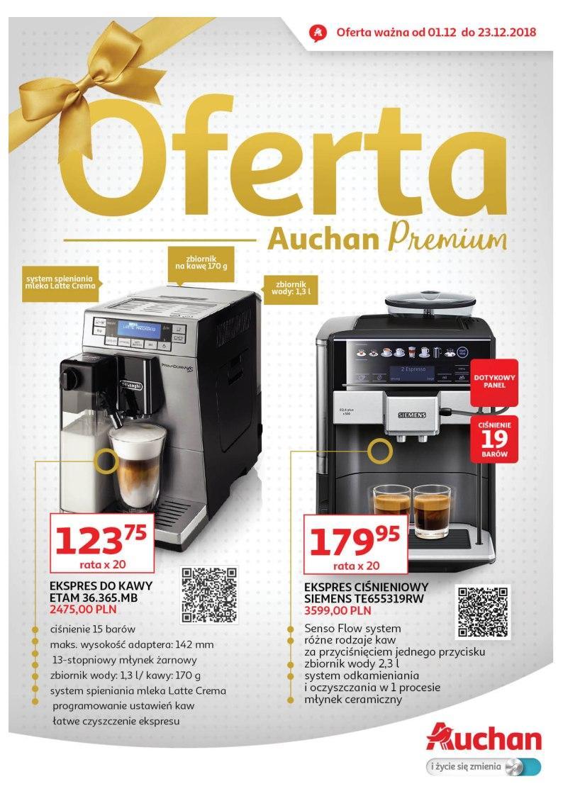 Gazetka promocyjna Auchan do 23/12/2018 str.1
