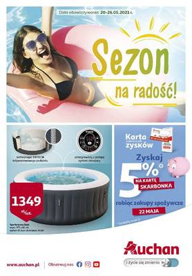 Auchan gazetka - od 20/05/2021 do 26/05/2021