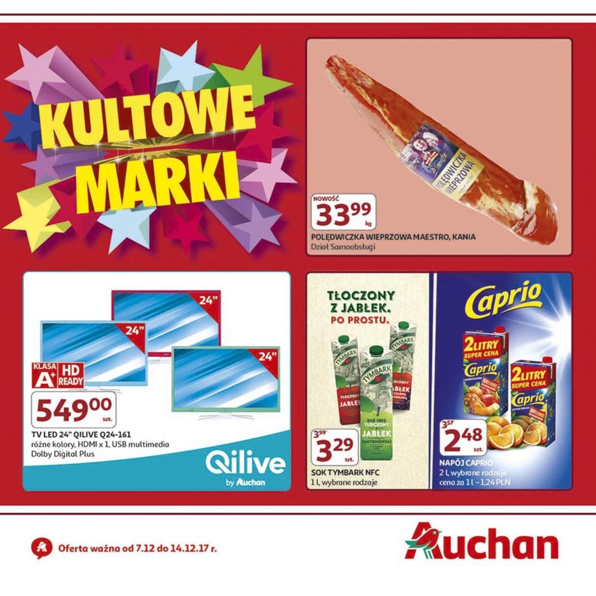 Gazetka promocyjna Auchan do 14/12/2017 str.0