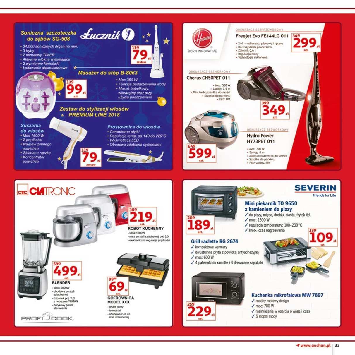 Gazetka promocyjna Auchan do 12/12/2018 str.33