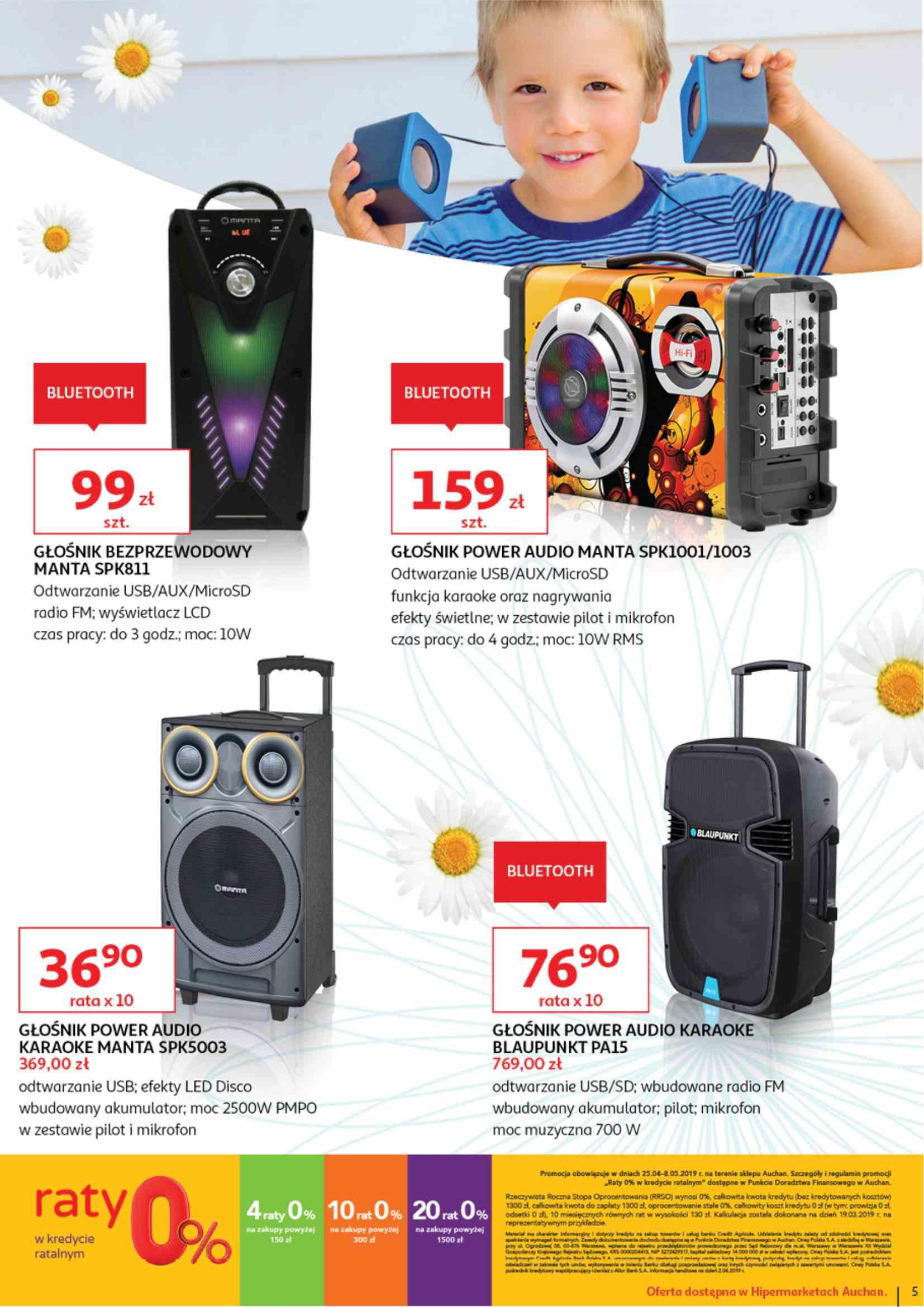 Gazetka promocyjna Auchan do 08/05/2019 str.4