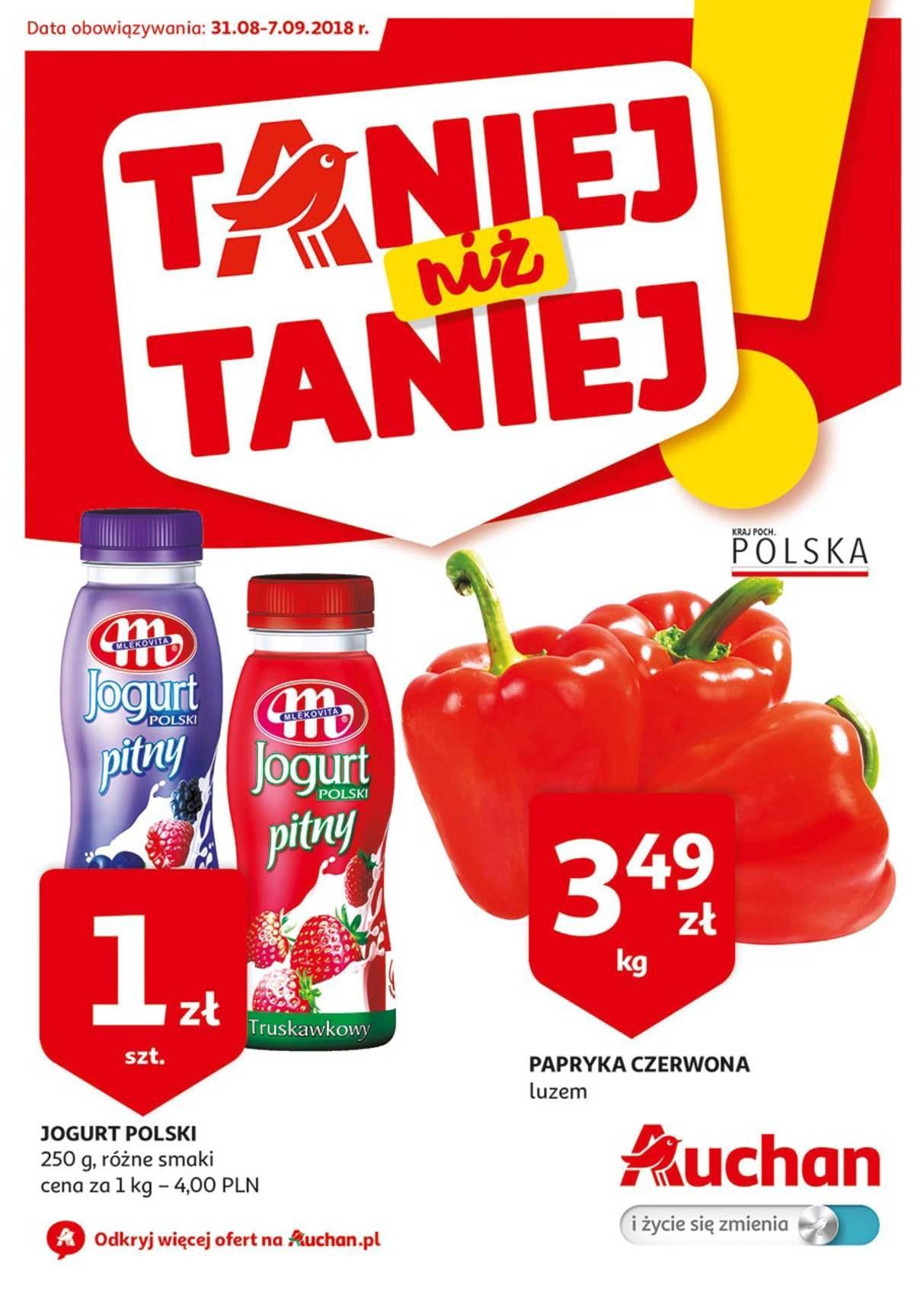Gazetka promocyjna Auchan do 07/09/2018 str.0
