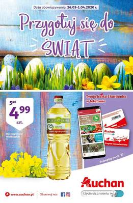 Auchan gazetka  - od 26/03/2020 do 01/04/2020