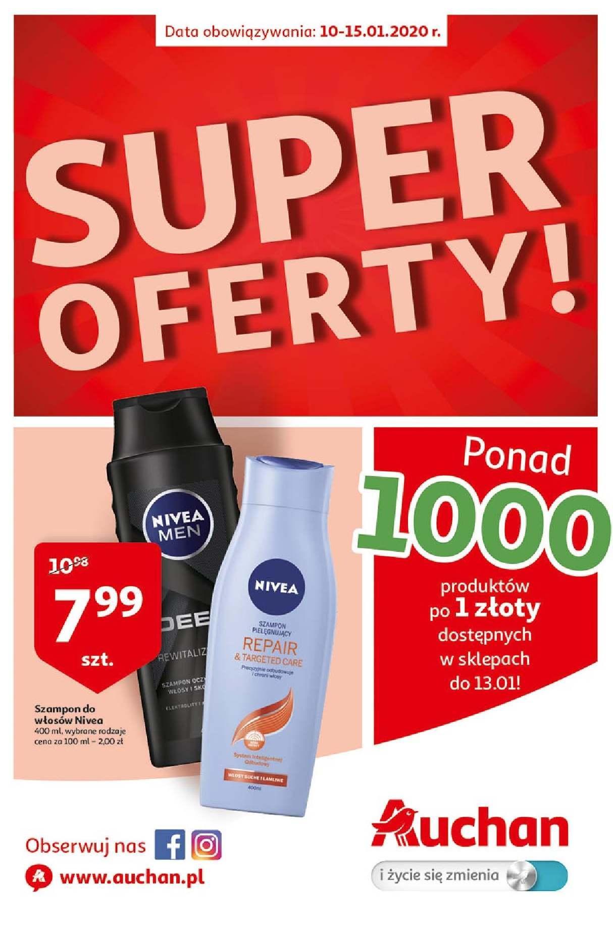 Gazetka promocyjna Auchan do 15/01/2020 str.1