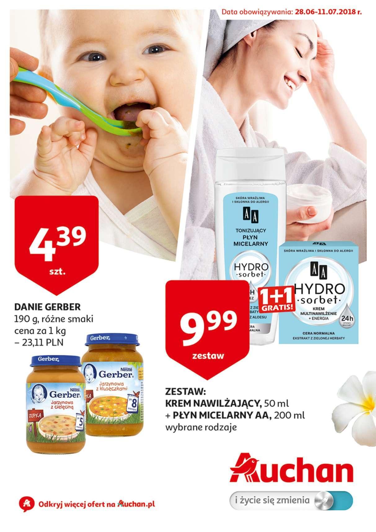 Gazetka promocyjna Auchan do 11/07/2018 str.0
