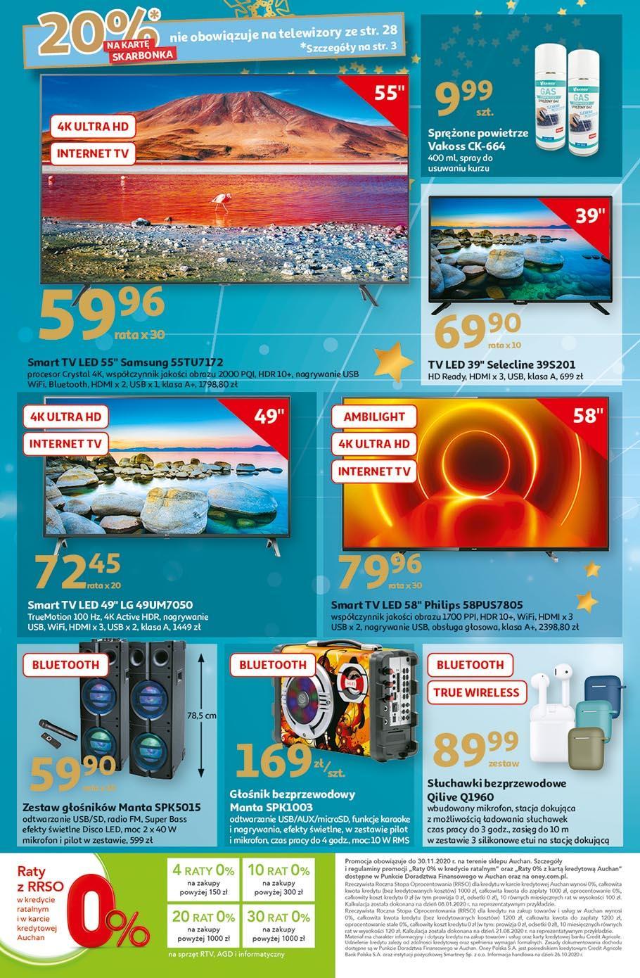 Gazetka promocyjna Auchan do 18/11/2020 str.28