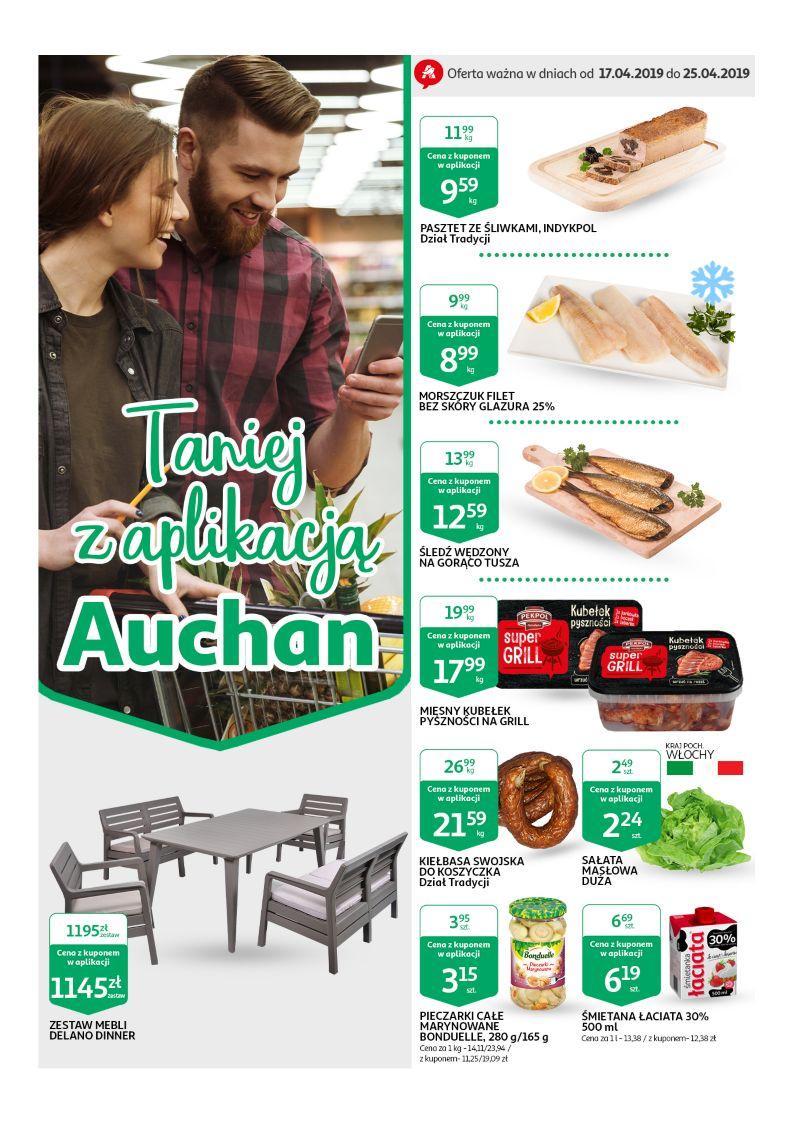Gazetka promocyjna Auchan do 25/04/2019 str.0