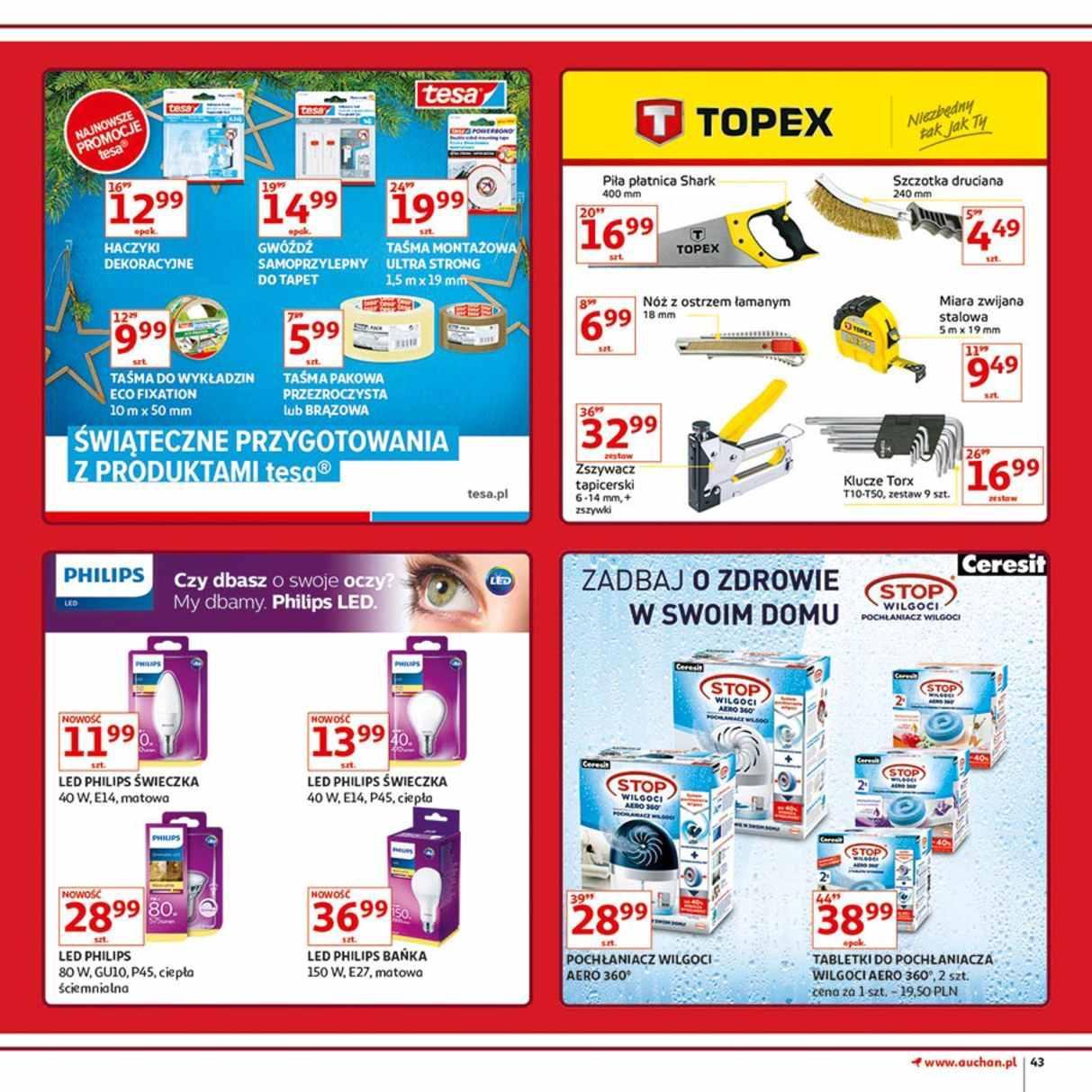 Gazetka promocyjna Auchan do 12/12/2018 str.43