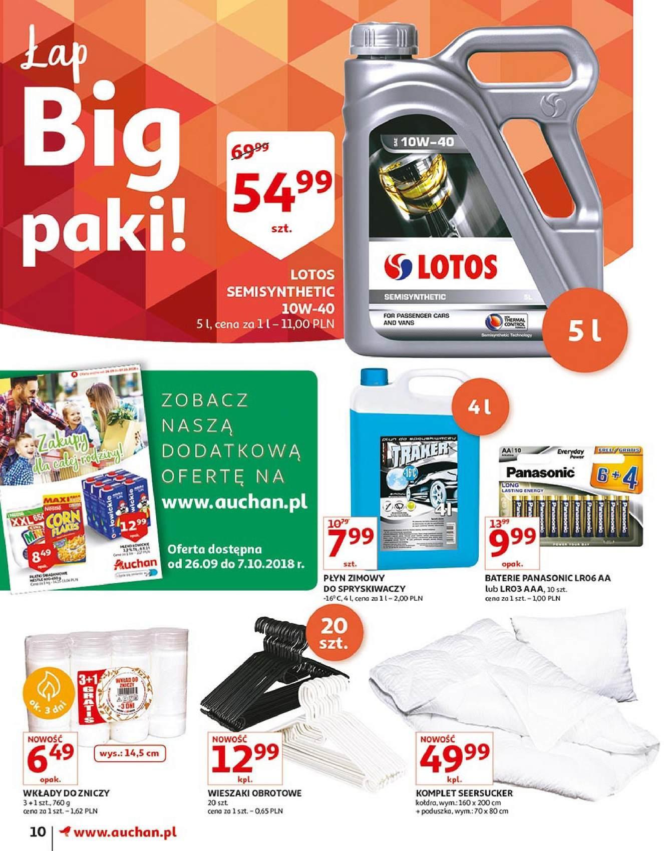 Gazetka promocyjna Auchan do 03/10/2018 str.9