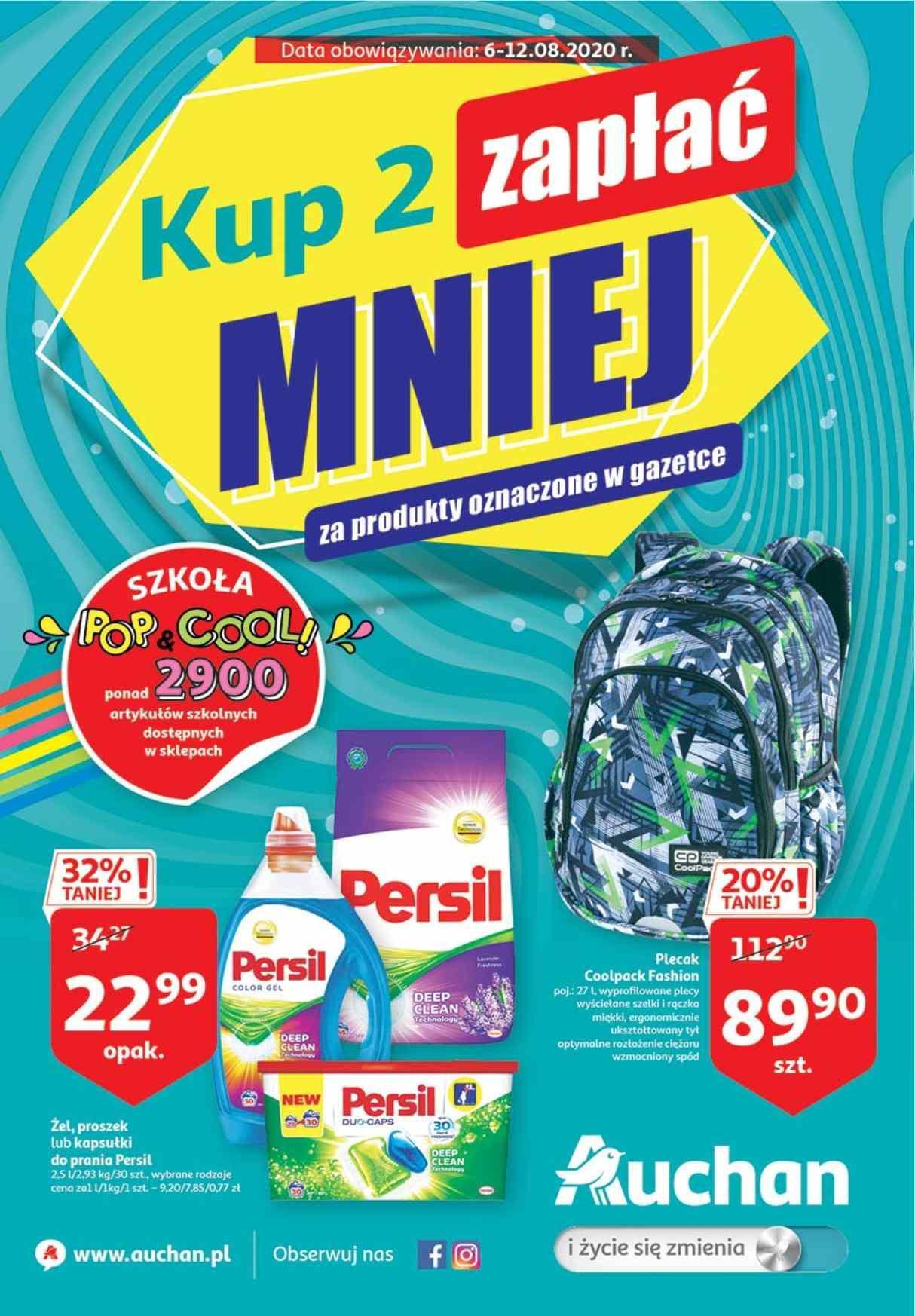 Gazetka promocyjna Auchan do 12/08/2020 str.0