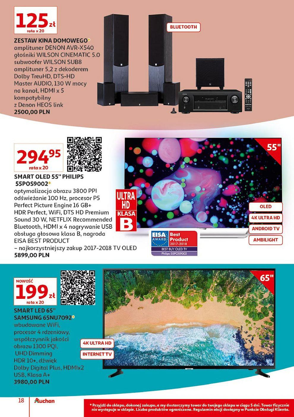 Gazetka promocyjna Auchan do 13/10/2018 str.17