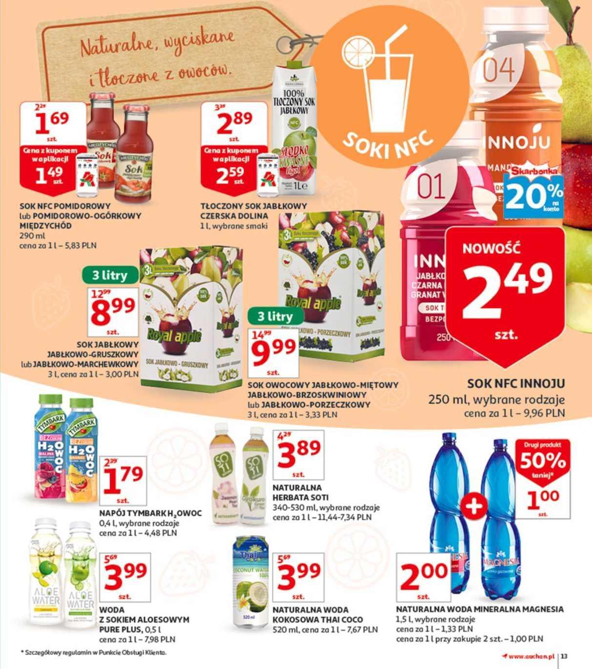 Gazetka promocyjna Auchan do 23/07/2018 str.13