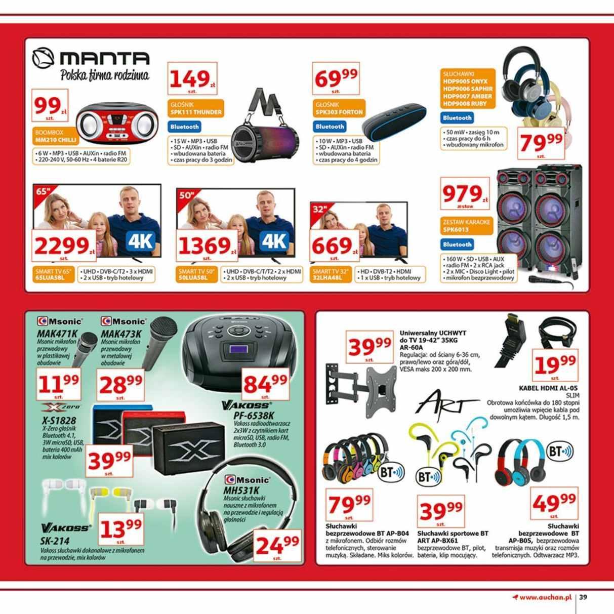 Gazetka promocyjna Auchan do 12/12/2018 str.39