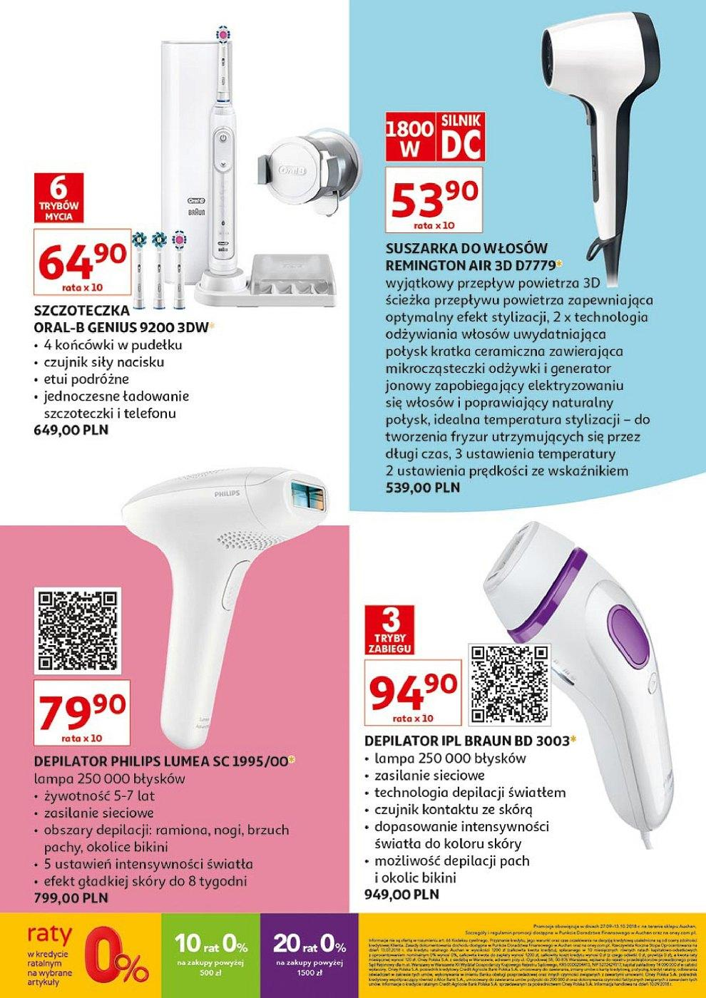 Gazetka promocyjna Auchan do 13/10/2018 str.12