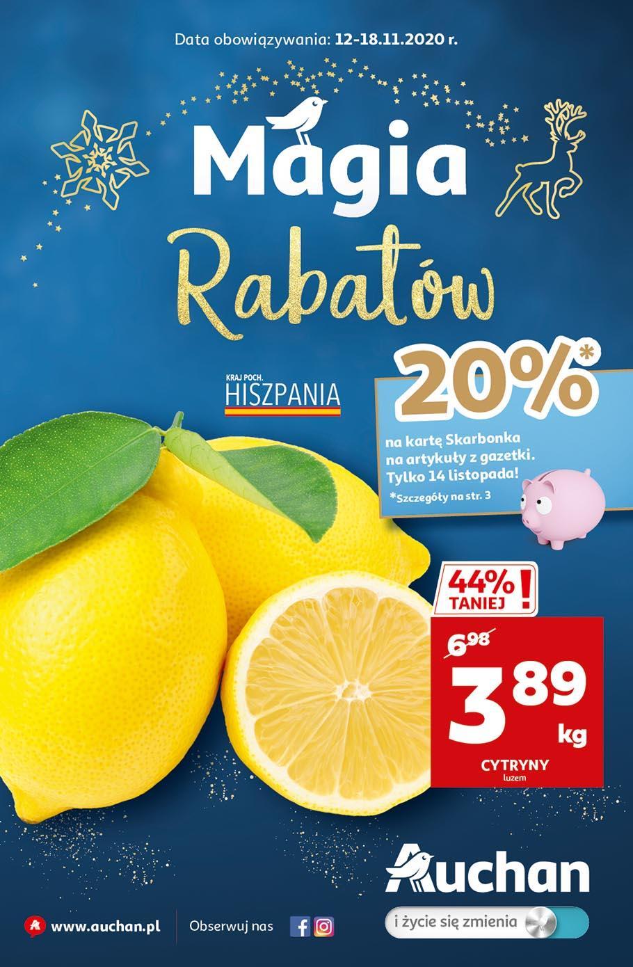 Gazetka promocyjna Auchan do 18/11/2020 str.1