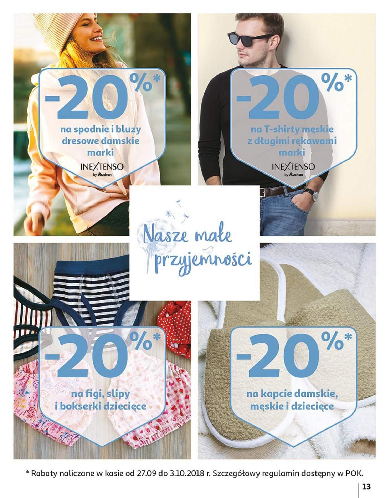 Gazetka promocyjna Auchan do 14/10/2018 str.13