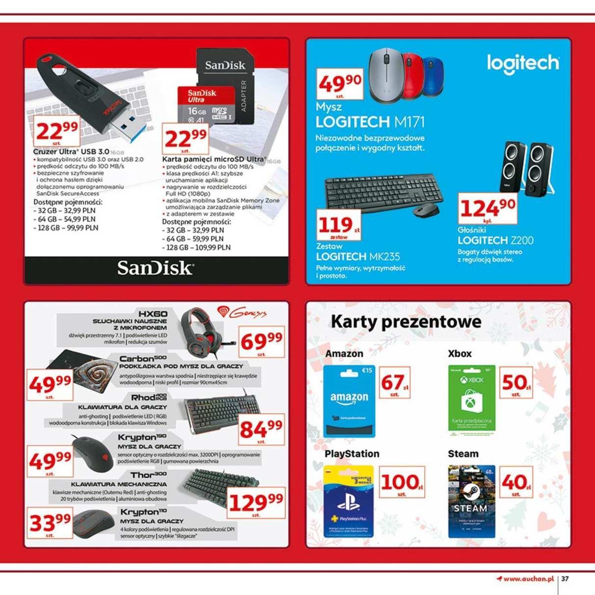 Gazetka promocyjna Auchan do 12/12/2018 str.37