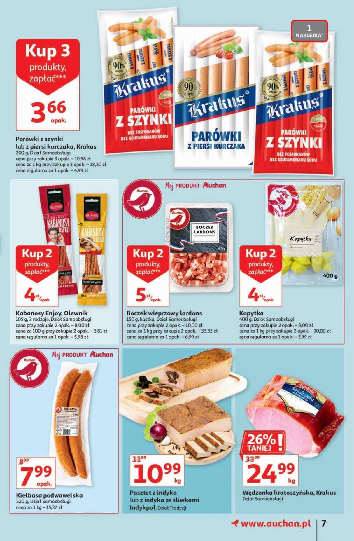 Gazetka promocyjna Auchan do 07/10/2020 str.6