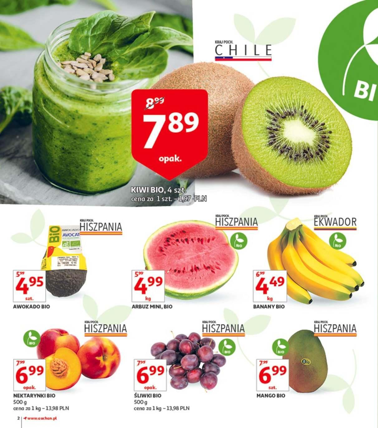 Gazetka promocyjna Auchan do 23/07/2018 str.1