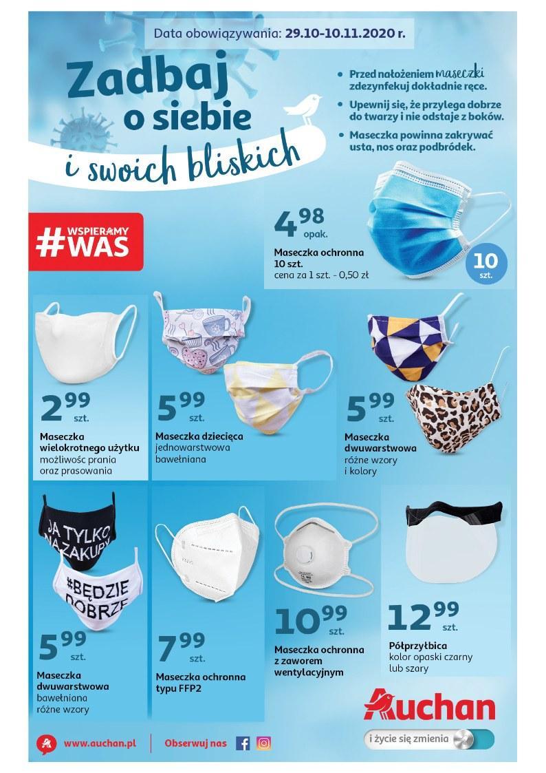 Gazetka promocyjna Auchan do 10/11/2020 str.0