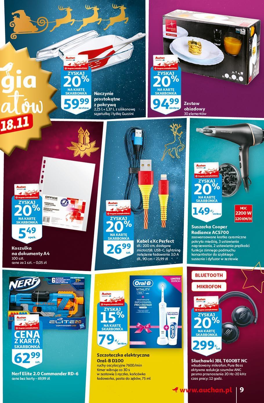 Gazetka promocyjna Auchan do 18/11/2020 str.9