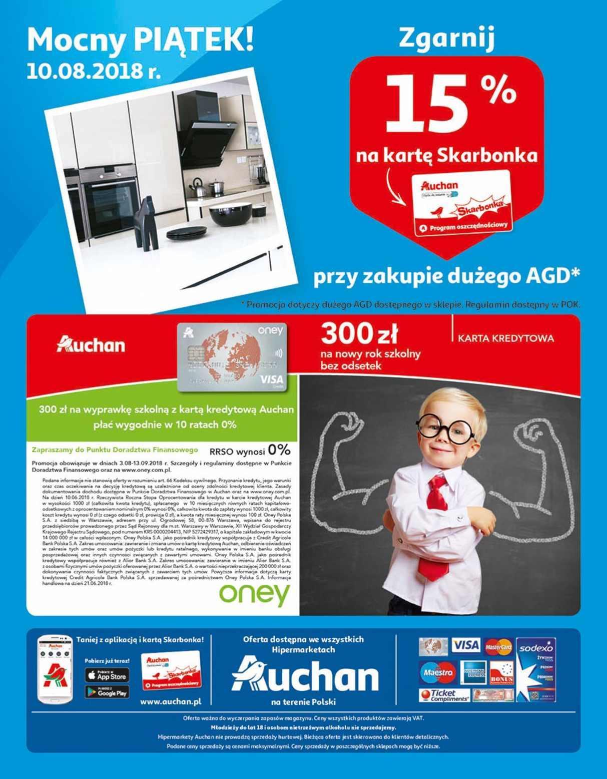Gazetka promocyjna Auchan do 14/08/2018 str.32